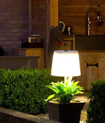 Solcelle lampen