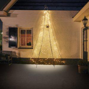 Fairybell LED juletræ til vægmontering