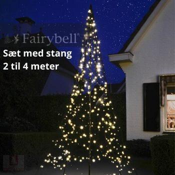 Fairybell LED julelys med stang