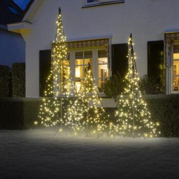 Fairybell julelys med fod